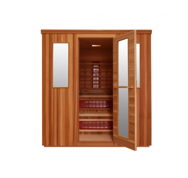 Cabine infrarouge cheap sauna infrarouge sola place with - Achat sauna belgique ...