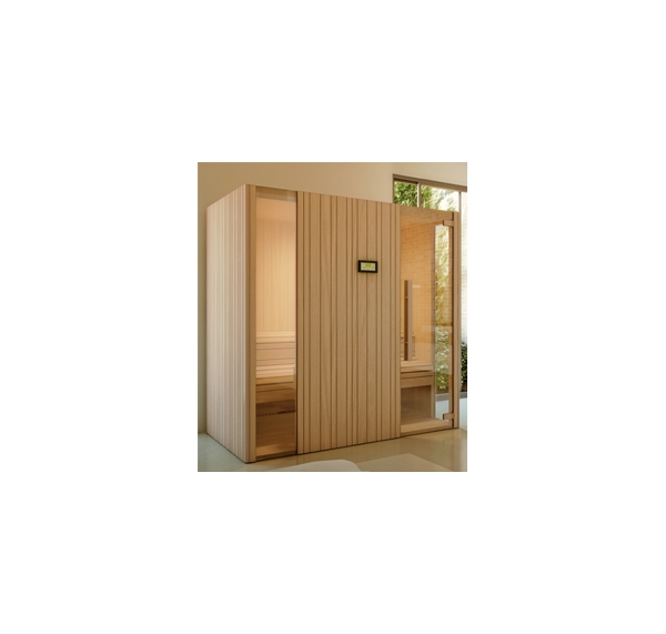 acheter saunas traditionnels auki 36 en 2 places. Black Bedroom Furniture Sets. Home Design Ideas